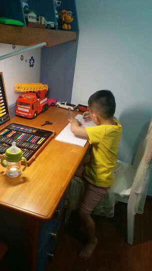 欧锐 绘画文具画笔木盒套装250件 可水洗水彩笔蜡笔 绘画笔工具 儿童节礼物美术画画铅笔木质礼盒装 晒单图