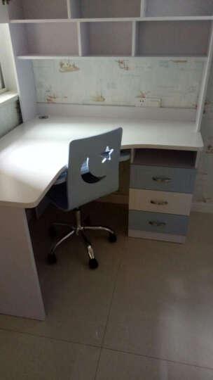 木居华府 儿童书桌电脑桌学习桌写字桌卧室写字台家用转角书台 转角书桌+转椅 晒单图