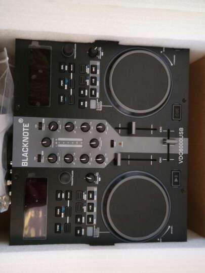 控制器 MIDI控制器 电脑打碟机 U盘打碟机 混音器双搓盘打碟机 DJ私人派对生活娱乐 黑色 晒单图