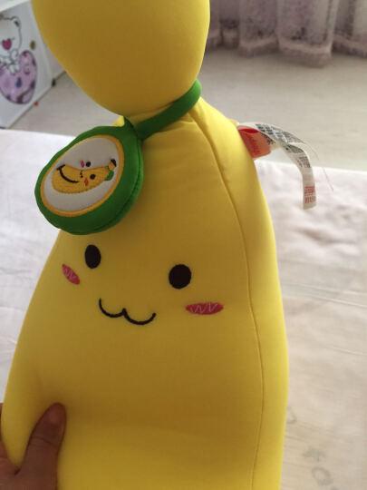 舒宠(sheepet)香蕉毛绒玩具粒子软体娃娃公仔 长条形抱枕玩偶靠枕节日礼物 中号香蕉+小号香蕉 晒单图