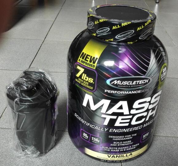 肌肉科技(MUSCLETECH) 【肌肉科技官方授权店】增肌粉乳清蛋白粉增重增肥健身增肌 白金肌酸400G 晒单图