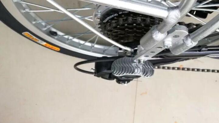 正步(ZB) 电动车自行车 锂电池电动单车轻便碟刹减震电瓶车 迷你折叠电动车欧美款 16寸20寸48V旗舰版90KM续航可爱粉留言尺寸 晒单图