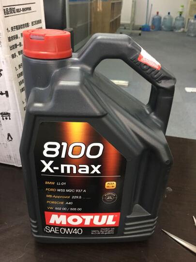 摩特(MOTUL)8100 X-max 0W40 5L SN 法国原装进口 全合成机油  晒单图