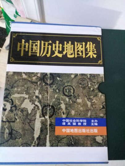 中国历史地图集 (全八册) 谭其骧著 全套8册 文玩鉴宝 考古 文物研究 工具地图册书籍 晒单图