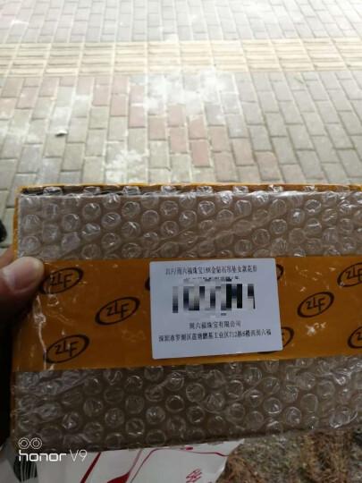 周六福珠宝 18K金钻石吊坠女款花形 不含链KGDB041427 晒单图