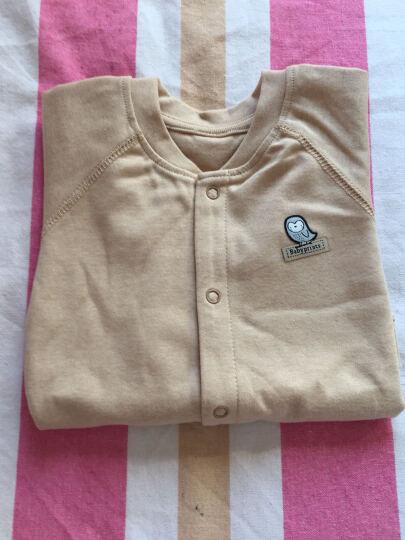 Babyprints婴儿内衣连体衣新生儿彩棉衣服男女宝宝爬服连体装59CM 晒单图