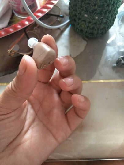 中德(ZhongDe) 中德老年人无线隐形充电助听器入耳式 重/中轻度弱听人士耳聋耳背 入耳式电池款ZDC-900 晒单图