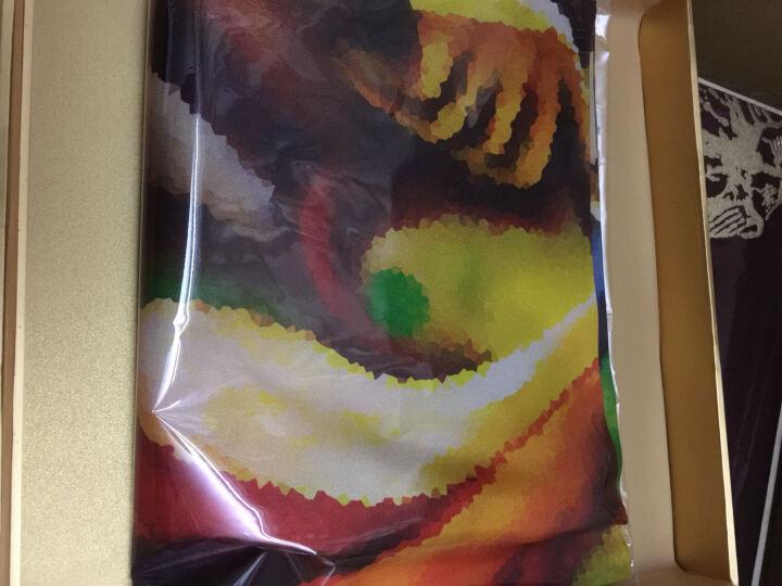 秦曲真丝围巾丝巾女18年新款春秋夏季中国风杭州桑蚕丝中方巾小方巾丝绸礼品 与青春有关的日子-珍藏 晒单图