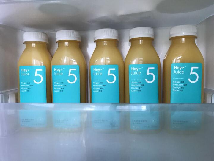 HeyJuice 鲜榨果汁 暖暖菠萝橙汁饮料 300ml*6 晒单图