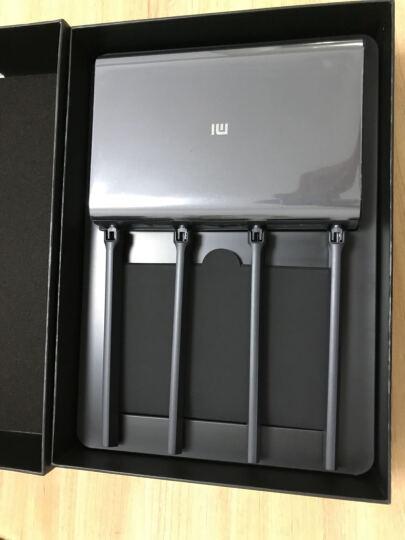 小米(MI)路由器HD 2600M 1TB硬盘存储wifi信号放大 双频路由 大户型穿墙 曜岩黑 智能路由器 晒单图