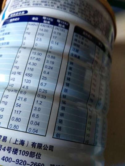 雅培(Abbott) 雅培(Abbott)全安素 全营养配方粉 蛋白质粉 进口膳食纤维 400g*1罐 晒单图