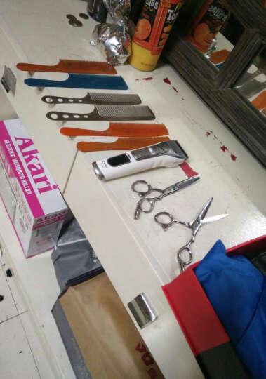 物有物语 梳子 男士大背头油头造型多款可选圆滑梳齿不锈钢发廊理发剪发梳密齿发型师梳子 苹果梳A1 晒单图