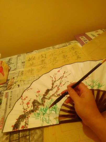 伟龙 扇子男中国扇折扇定制竹扇舞蹈扇子中式古典商务礼品定制中国风特色礼品送老外 白面(清明上河图) 晒单图