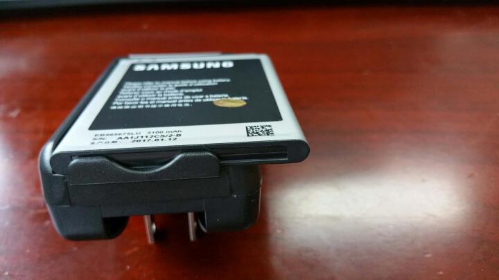 三星(SAMSUNG)note2原装正品电池 n7100手机电板 适用n7108 n719 电池+品牌座充 晒单图