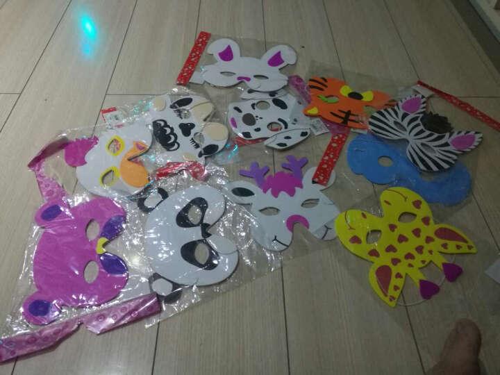 六一儿童节表演幼儿园小动物头饰表演道具卡通帽子小猪兔鸭子狐狸活动 卡通老鼠 晒单图