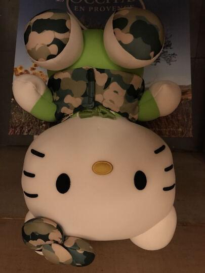 Hello kitty凯蒂猫 迷彩系列毛绒玩具 软体粒子公仔玩偶 抱枕靠垫布娃娃 13