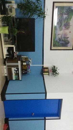 祺讯 加厚pvc壁纸自粘蚕丝墙纸条纹卧室墙纸家具翻新背景墙纸卧室防水纯色 壁纸墙纸 加厚蚕丝灰色 3m长*60cm宽 晒单图