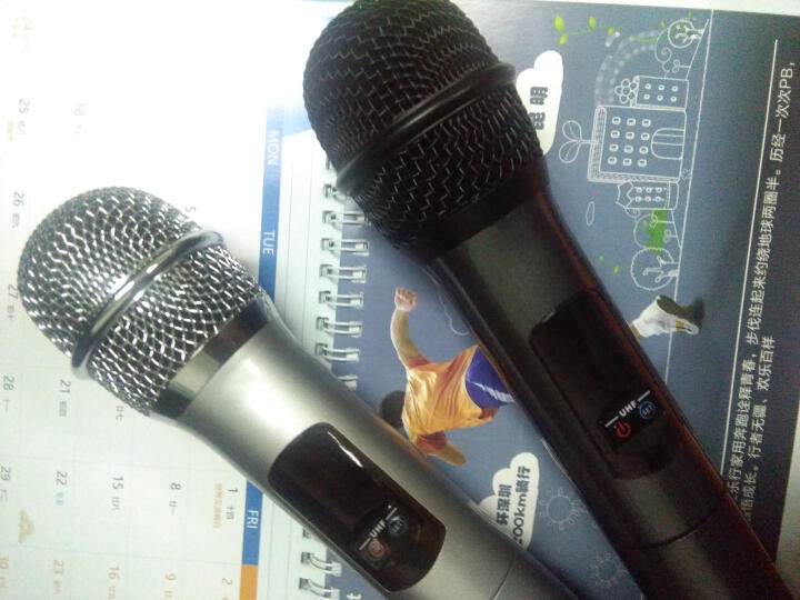 yunque云雀之声K18U无线蓝牙录音手持麦克风话筒唱歌K歌家用手机电视电脑家庭唱吧专用 银灰套装 晒单图