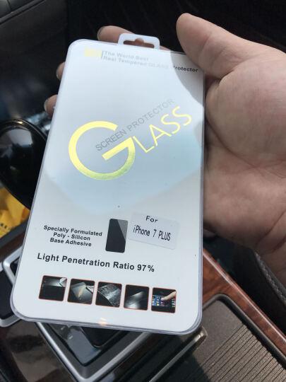 酷乐克 手机壳保护套防摔全包 适用于苹果iphone7/7plus/8plus iPhone7Plus电镀镜面亮黑哈喽-5.5英寸 晒单图