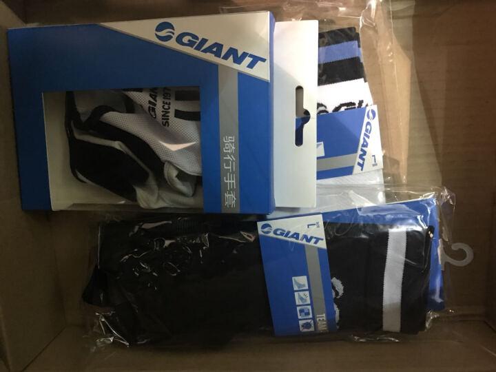 GIANT 1972车队版小羊皮短指手套安全环保舒适透气三色可选 白色 L 晒单图