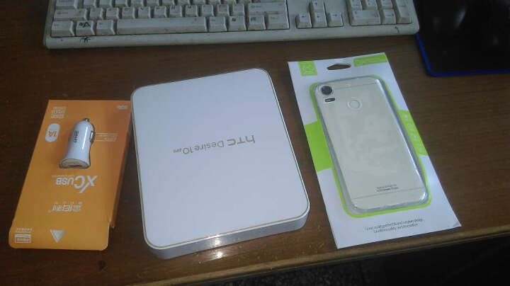 HTC D10w Desire 10 pro 移动联通电信4G 海军蓝 64G全网通 晒单图