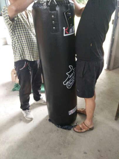 飞尔顿 帆布沙袋PU 沙包 立式实心拳击散打泰拳训练体育用品健身器材 不倒翁 实心黑色PU沙包180CM 晒单图