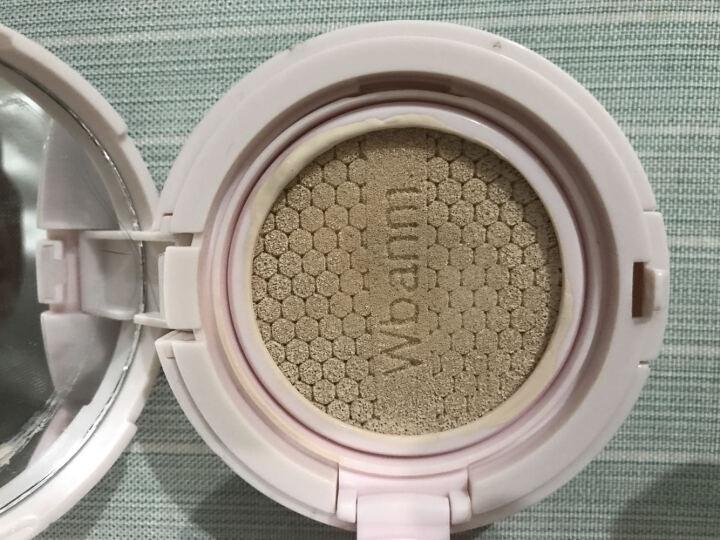 万般媚(Wbanm)气垫CC霜隔离遮瑕强保湿滋润裸妆粉底液气垫bb霜升级版提亮肤色 两个CC霜 晒单图