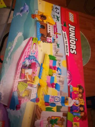 乐高(LEGO)小拼砌师juniors系列创意拼砌小颗粒积木4周岁+塑料拼插玩具 10754 蜘蛛侠大战蝎子人 晒单图