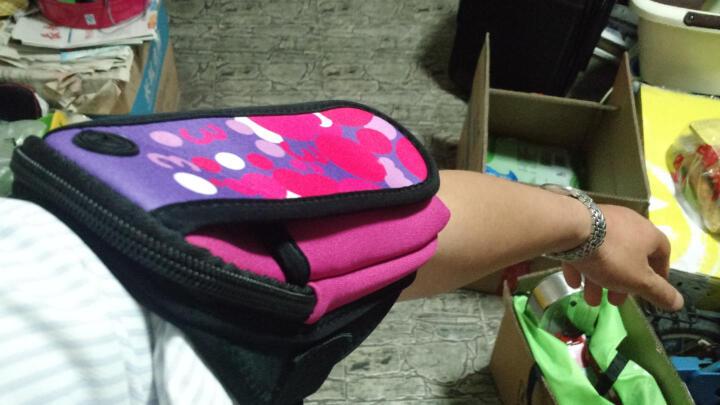 加加林 运动手机臂包手腕包跑步包 臂带跑步臂袋 手臂包 回忆玫红色大号 晒单图