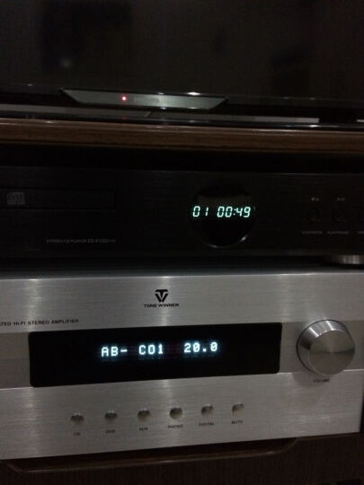 山灵 CD-S100(2015)HIFI发烧CD播放机 家庭发烧音响 USB U盘输入 黑色 晒单图