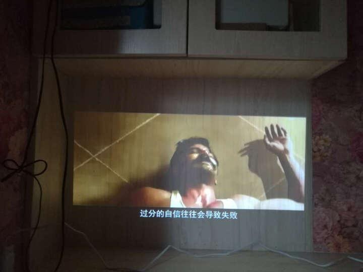 tumetimes 图美Q8 微型投影仪家用迷你wifi投影仪办公 高清智能3D手机投影机 8+32G 香槟金 晒单图