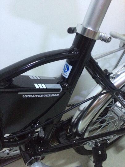 正步(ZB) 电动自行车迷你成人折叠电瓶车48V助力男女士代驾电单车 16寸20寸X6版400W90公里黑色其他颜色留言 晒单图