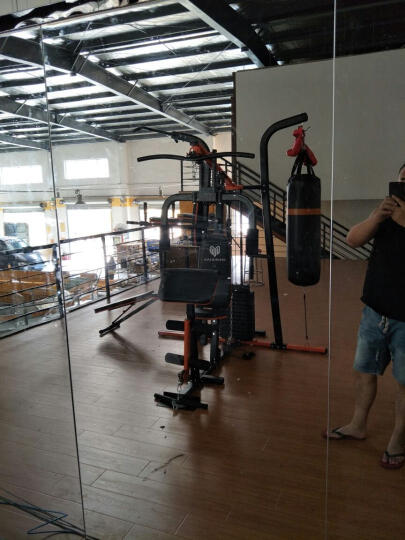美力德 M6综合训练器 三人站力量组合多功能健身器材 多功能家用健身器械 带沙袋仰卧运动器材 安装费 晒单图