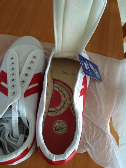 回力男鞋女鞋帆布鞋经典款情侣运动鞋休闲鞋板鞋学生鞋小白鞋篮球鞋 WB-1 蓝黑 38(偏大一码) 晒单图
