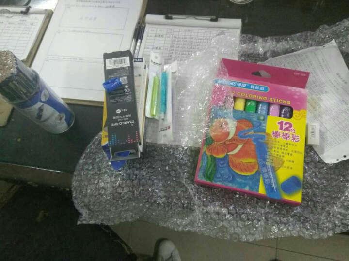马可8000 橡皮头儿童书写铅笔 六角黑杆小学生铅笔 办公写字铅笔 无铅毒 2B 12支整盒 晒单图