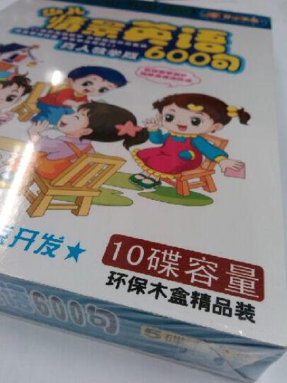 少儿情景英语600句(真人教学版)(5VCD) 晒单图