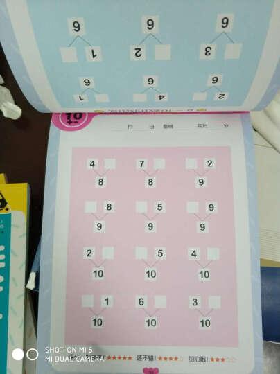 幼小衔接口算心算数学加减法算术本学前必备规范描红汉字拼音数字笔画笔顺篇旁描红幼儿园教材 汉字描红 晒单图
