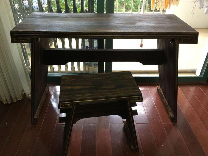英悦 古琴桌凳,共鸣箱款基础款体双栓古琴桌/包邮 基础款 晒单图