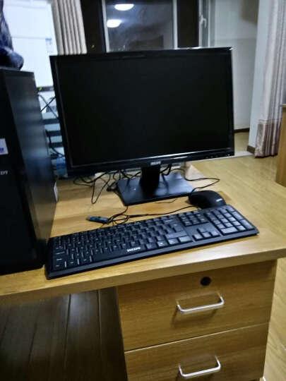 七喜(HEDY)悦祺H20-5N81T 商用办公台式电脑套机(Intel酷睿i3 8G 1TB GT710 2G独显 ) 21.5英寸 晒单图
