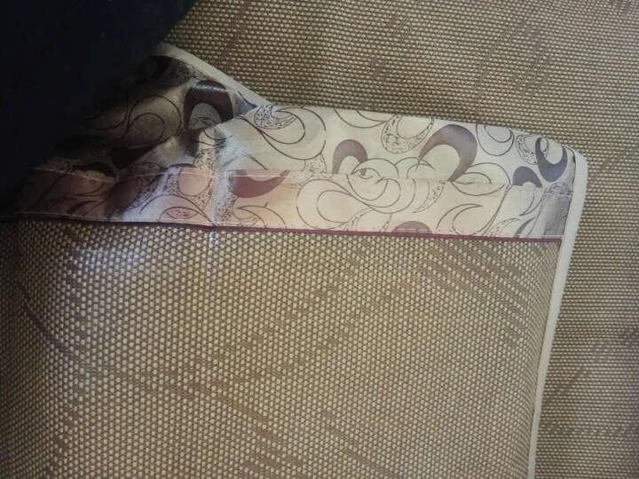 邦德 学生床竹席凉席子学校宿舍0.9米床铁架床格子铺 高低铺 单人床 藤席含枕套 90*190 晒单图