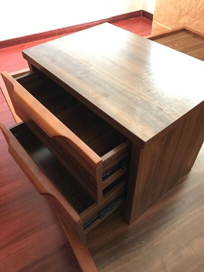 LAGO  实木床头柜 中式储物柜 现代收纳柜 卧室家具床边柜 9B06 单抽特价床头柜 晒单图