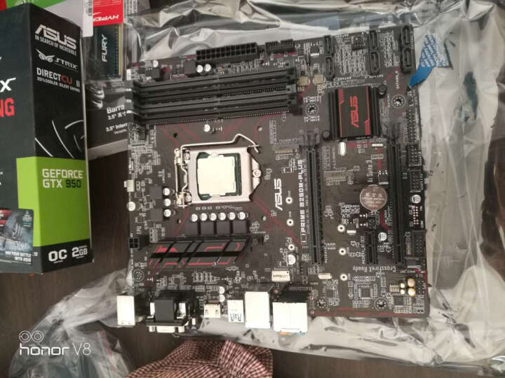 华硕(ASUS)猛禽STRIX-GTX950-DC2OC-2GD5-GAMING 1355MHz/6610MHz 2GB/128bit DDR5 PCI-E 3.0 显卡 晒单图
