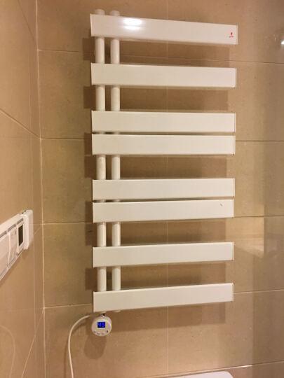 艾芬达 智能电热毛巾架 电加热浴巾架 浴室置物烘干架毛巾烘干 小件衣服快速烘干 GD 100*50cm温控左 晒单图