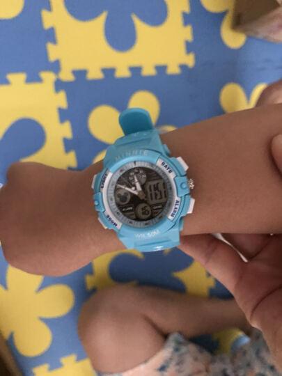迪士尼(Disney)防水夜光米奇电子表 儿童手表女孩运动表学生手表PS021-9 晒单图