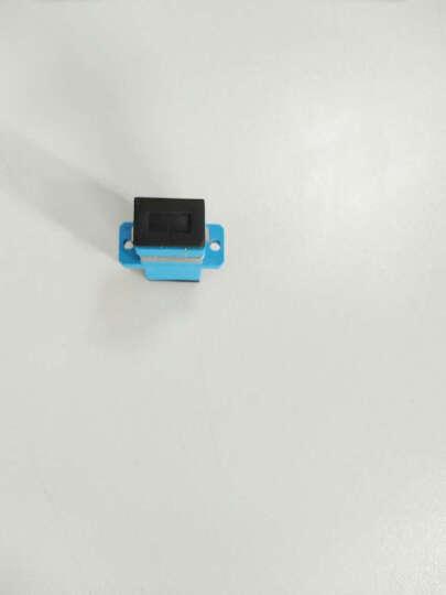 祥来鑫 单工 双工光纤耦合器sc/fc/st/lc头法兰盘连接器光纤适配器电信级光纤对接 MPO光纤跳线法兰耦合器 晒单图