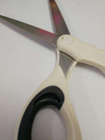 国誉(KOKUYO)日本进口空气弹力办公剪刀 波纹手柄 无缝型 粉红 HASA-P220NP 晒单图