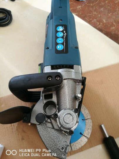 开槽机 一次成型墙壁开槽机 混凝土切割机 无死角槽机 水电安装布线开槽工具切槽机 轻型二代槽王开槽机(可安装6个刀片) 晒单图