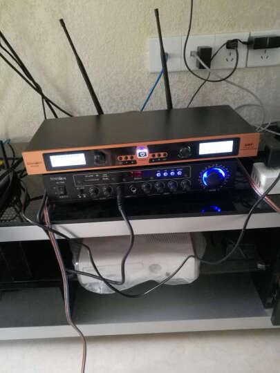 声文(SENGVEN)ktv蓝牙卡包音响套装 卡拉OK点歌机会议功放音箱组合K歌设备家用 八件套大礼包 晒单图