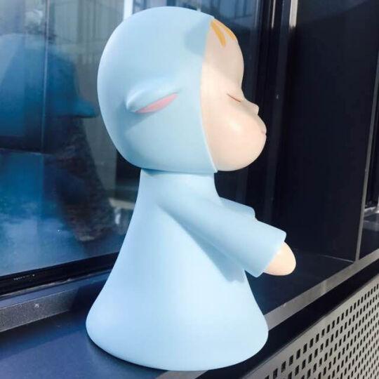 【顺丰发货】日本奈良美智限量版梦游娃娃创意结婚情人节礼物送老婆女友闺蜜生日礼物女生表白神器纪念日礼物 梦游娃娃 晒单图