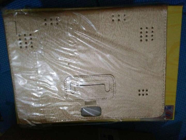 艾电尼 平板电脑八核10.1英寸IPS高清屏安卓4G通话手机二合一 玫瑰金(64G) 官方标配+皮套 晒单图